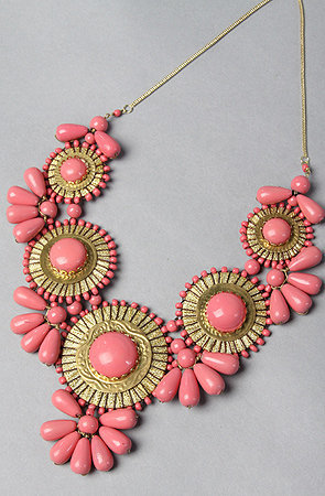 The Medallion Bib Necklace