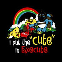 T-Shirt Hell :: Shirts :: I PUT THE CUTE IN EXECUTE