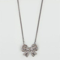 FULL TILT Filigree Bow Necklace   199825189 | Necklaces | Tillys.com