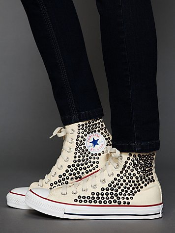 Free People Tommy Studded Chucks