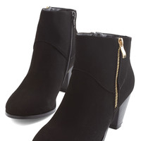 ModCloth Minimal Forever and Clever Bootie