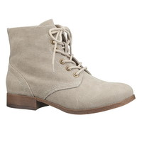 Sam lace up canvas boot