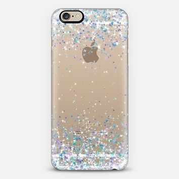 Frosty Sparkles Transparent iPhone 6 case by Organic Saturation | Casetify