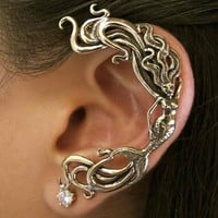 Bronze Mermaid Ear Wrap