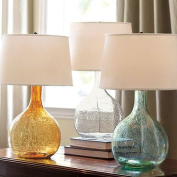 Eva Colored Glass Table Lamp
