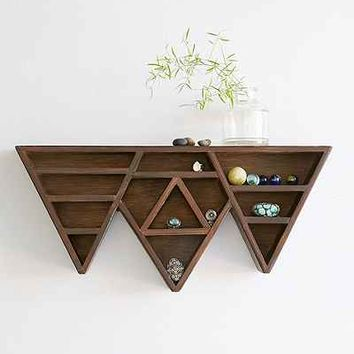 Bryn Mountain Display Shelf - Brown One
