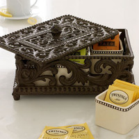 Five-Section Divided Tea Box - GG Collection