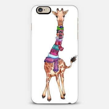 Cold Giraffe iPhone 6 case by Perrin Le Feuvre   Casetify