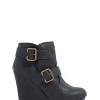 Friend With Benefits Wedge Booties