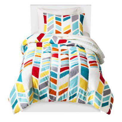 Room Essentials® Chevron Bed Set - Multi Chevron - Twin Extra Long