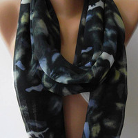 Infinity Scarf Loop Scarf Circle Scarf - Elegant - It made with good quality chiffon fabric....Super Loop