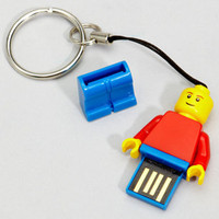 LEGO Action Figure USB Flashdrive | 2 GB Flash Drive | fredflare.com