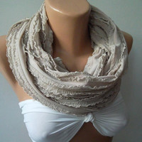 Infinity Scarf Loop Scarf Circle Scarf - Elegant - It made with good quality  fabric....Super Loop