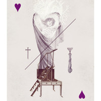 Queen of Hearts Art Print by Anna Pietrzak | Society6
