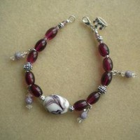Crown Royale Bracelet by IllusionsbyDonna on Zibbet