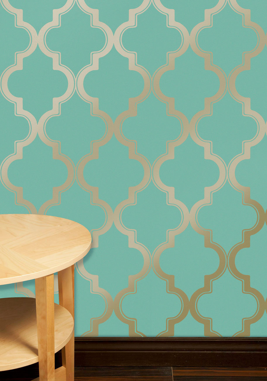 Hyde park temporary wallpaper from modcloth for my new for Temporary wallpaper