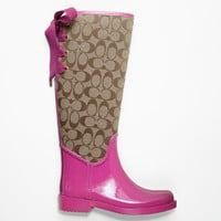 Coach Rainboots! <3