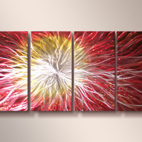 Supernova - Modern Abstract Decor Metal Wall Art Panels by Donghua