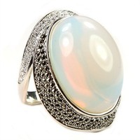 Judith Jack Luna Opal, Marcasite and Crystal Dome Ring at Von Maur