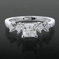 Engagement Rings - .28 ctw. 14K Gold Diamond Engagement Ring