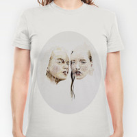 rain (autumn) T-shirt by karien deroo | Society6