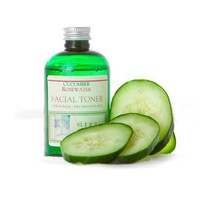 Cucumber Rosewater Facial Toner - 4 oz.