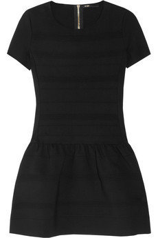 Maje | Stretch-crepe jersey mini dress | NET-A-PORTER.COM