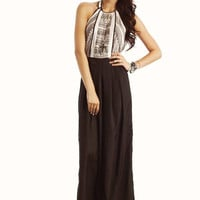 tribal-halter-jumpsuit