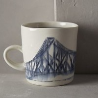 Skyway Mug by Anthropologie