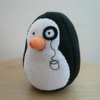 Penguin Plush Animal Stuffed Fleece.. on Luulla
