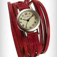 Red String Theory Wrist Watch | PLASTICLAND