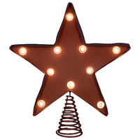 10-Inch LED Star Tree Topper