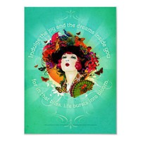 Burst into Bloom Posters from Zazzle.com