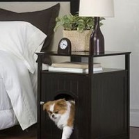 Dog Bed Nightstand