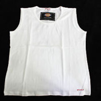 Dickies MEDICAL UNIFORM UNDER SHIRT SLEEVELESS TANK TOP WHT BLK NVY PURPLE PINK