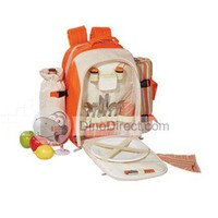 LEOU KC-24 Picnic Backpack Bag for Two Persom with Picnic Blanket, Britain - DinoDirect.com