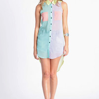 Pastel Palette Colorblock Top - $42.00: ThreadSence, Women's Indie & Bohemian Clothing, Dresses, & Accessories