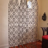 Moroccan Iron Screen - 3