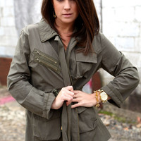 Front Lines Military Jacket