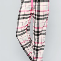 SOFT CHECKERED PJS