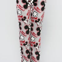HEY MICKEY MOUSE PRINT PJS