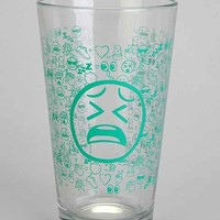 Icon Pint Glass- Green One