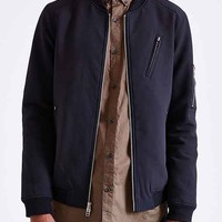Your Neighbors Marius Nylon Bomber Jacket-