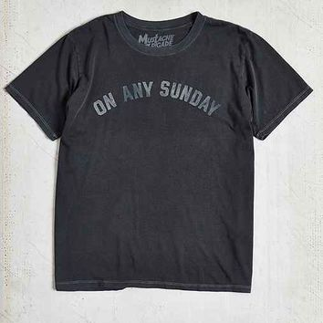 Sunday Santa Barbara Tee- Charcoal