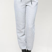 Quilting JOGGING PANTS