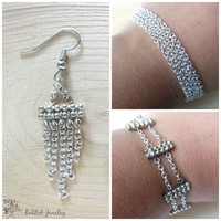 Bracelet and Earring Set - Pick Your Bracelet