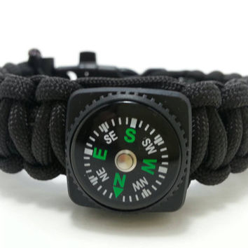 Survival Bracelet, Prepping gear, Paracord bracelet