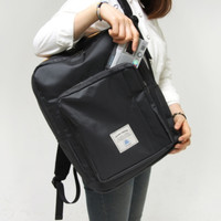 Charcoal Square Backpack