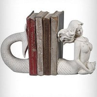 Victorian Mermaid Bookends