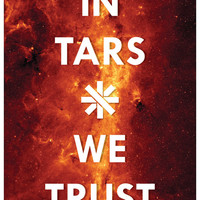 It's Full of TARS // an Interstellar Alternative Quote Poster // Stars, Gas, and Acerbic Helper Bot Typographic Illustration